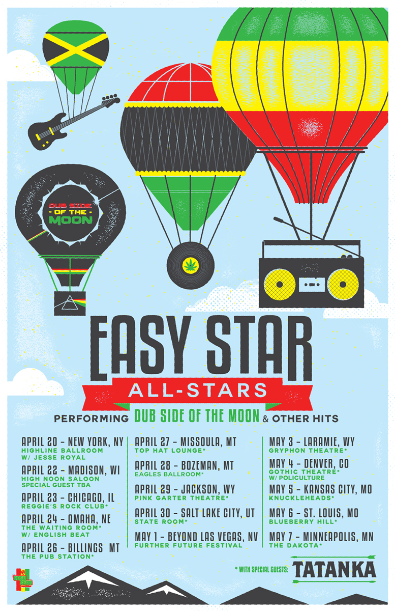 Easy Star All-Stars Spring tour. Photo provided.