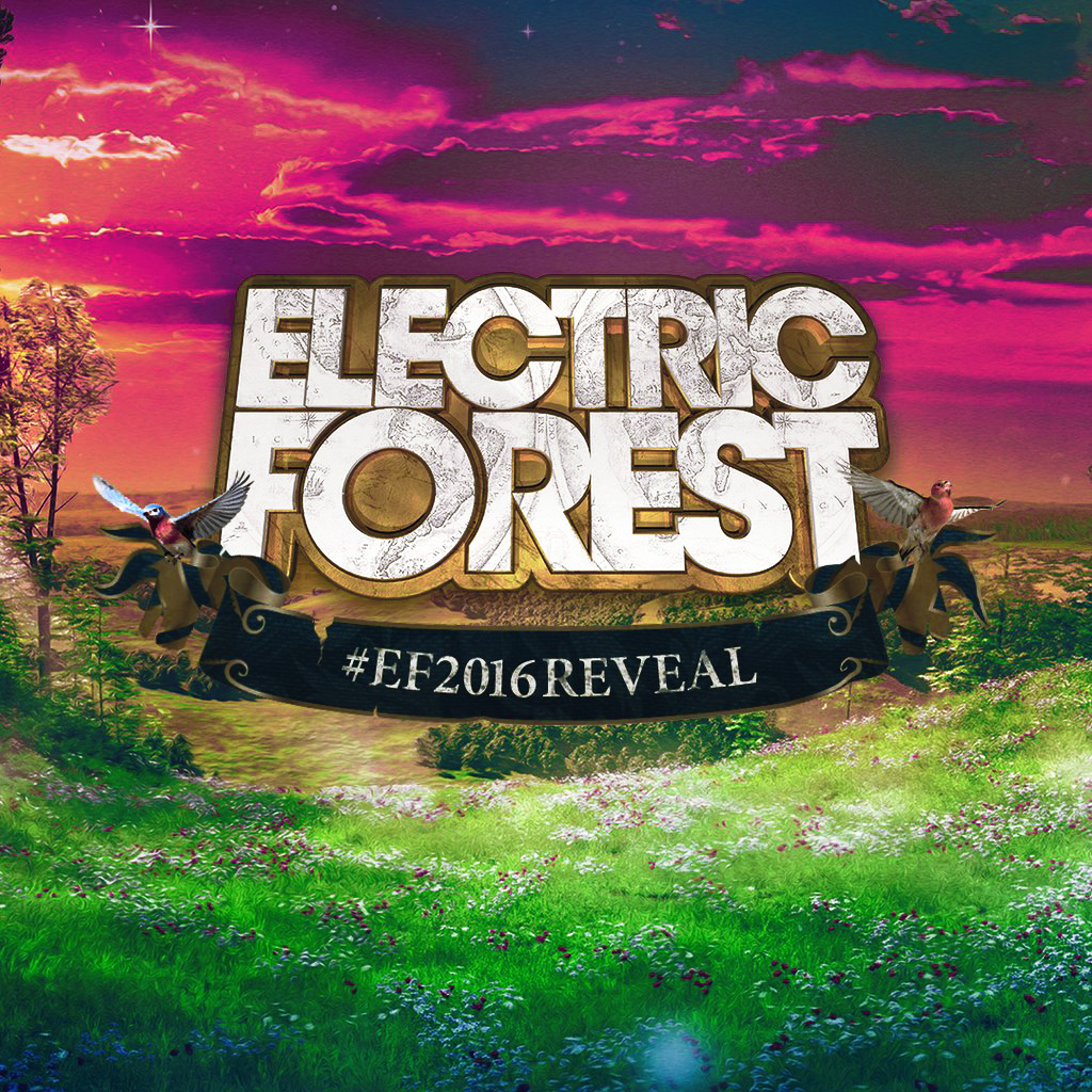 Electric Forest 2016 lineup announcement. Photo by: Electric Forest / Twitter
