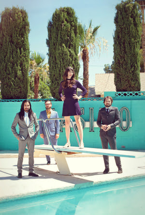 Silversun Pickups. Photo courtesy: Sacks & Co.
