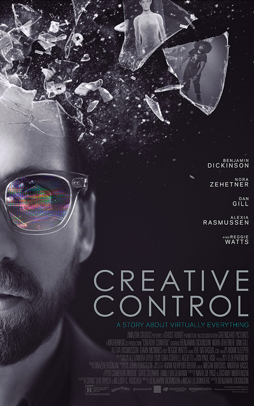 Creative Control poster. Photo by: Creative Control
