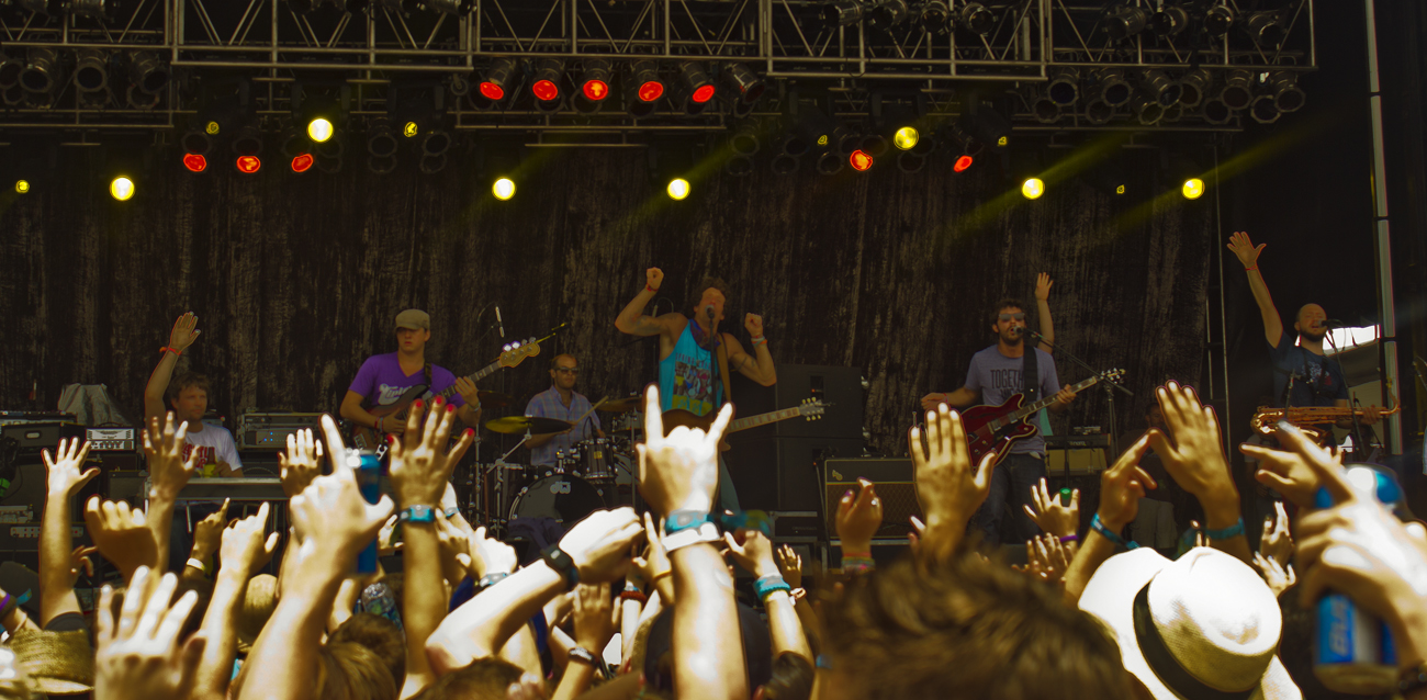 The Revivalists at Hangout Music Festival 2013. Photo by: Matthew McGuire