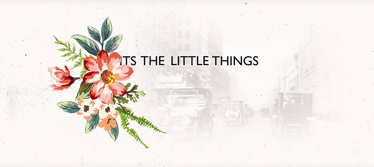 Big Gigantic's 'The Little Things' ft. Angela McCluskey single. Photo by: Big Gigantic / YouTube