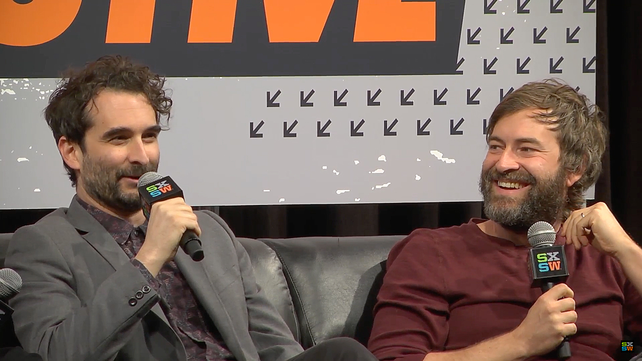 Duplass brothers at SXSW Film 2016. Photo by: SXSW / YouTube