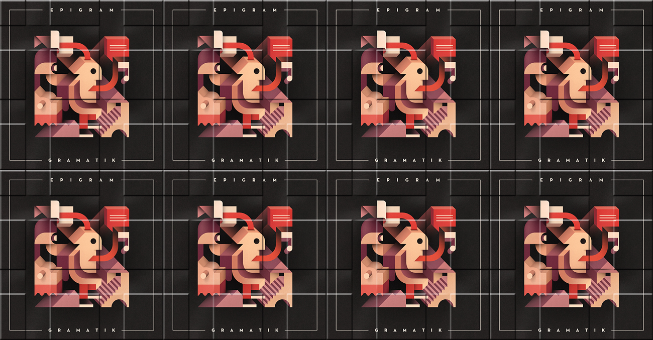 Gramatik releases Epigram on Lowtemp Records. Epigram album artwork.