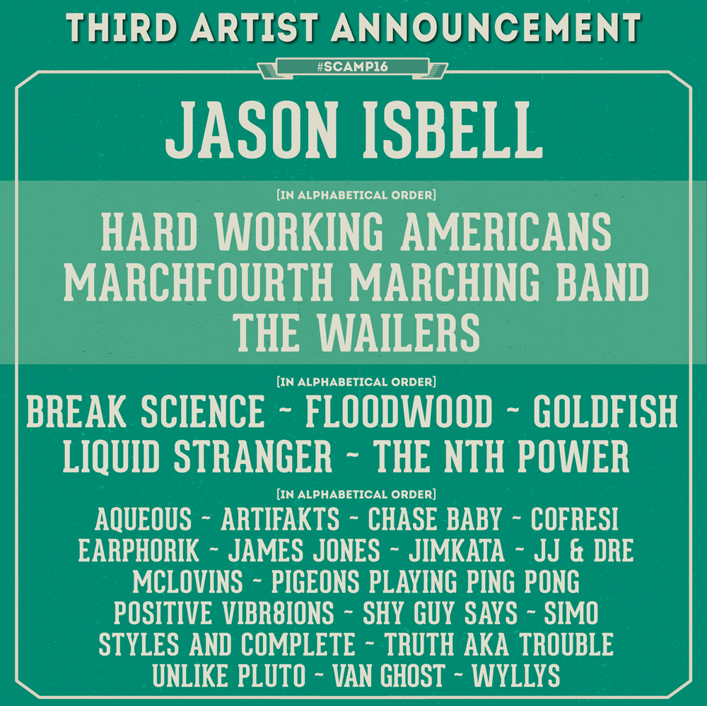 Jason Isbell, The Wailers and more at Summer Camp Music Festival. Photo provided.