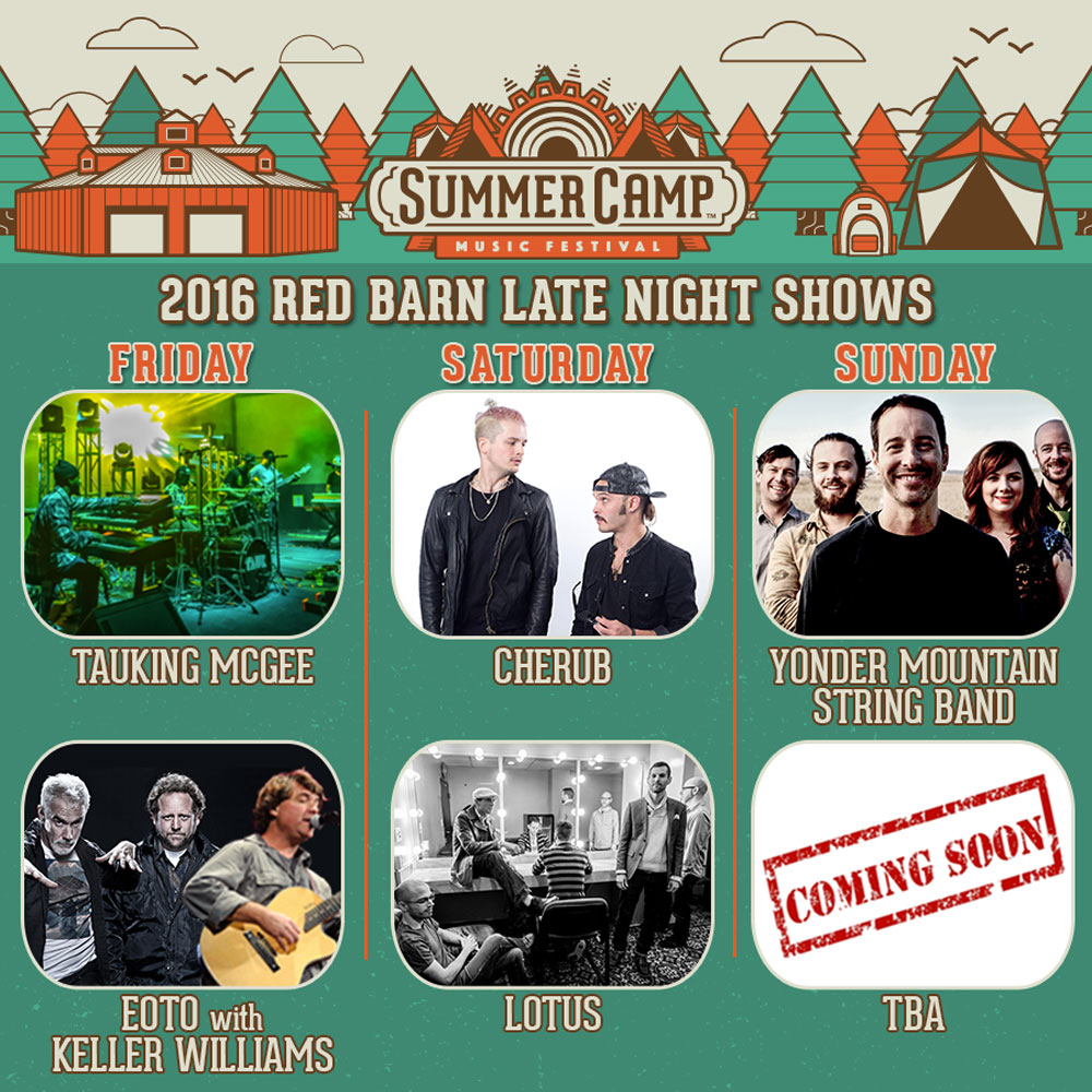 Summer Camp Music Festival 2016 late night shows. Photo provided.