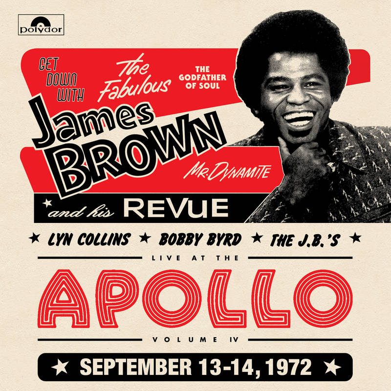 James Brown Live from the Apollo. Photo by: Record Store Day