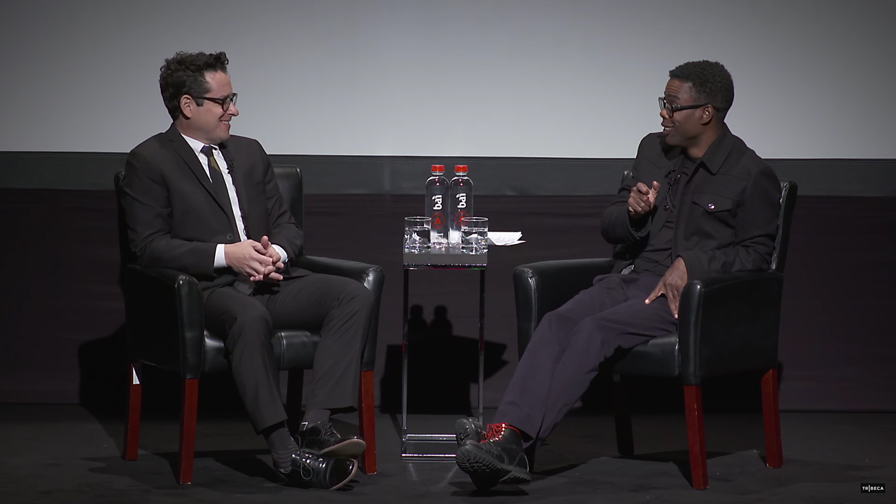 Tribeca Talks 2016 with Chris Rock and J.J. Abrams. Photo by: Tribeca / YouTube