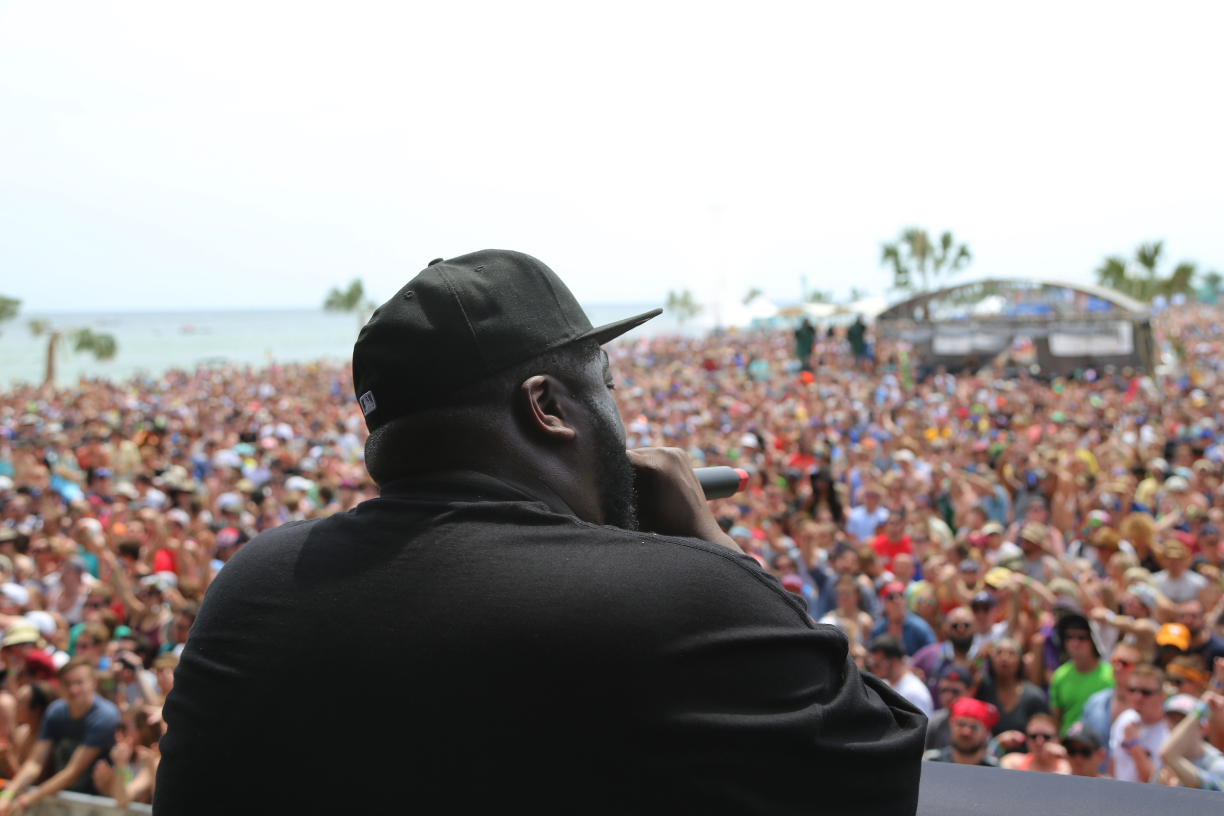 Run the Jewels at Hangout Music Festival 2016. Photo: Courtesy of Hangout Music Festival