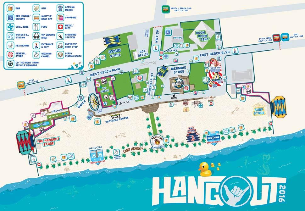 Hangout Music Festival 2016. Photo by: Hangout Fest