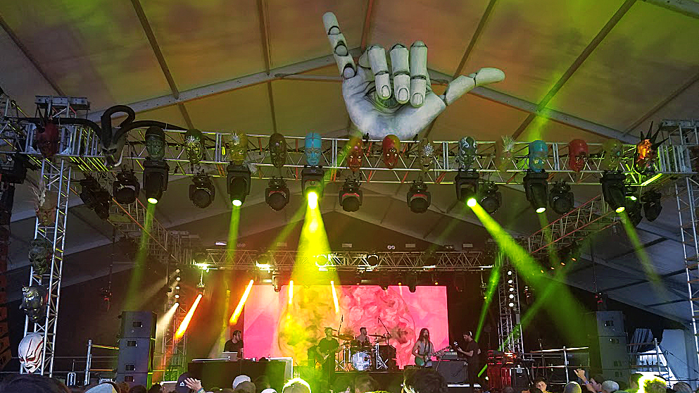 Moon Taxi at Hangout Fest 2016. Photo by: Matthew McGuire