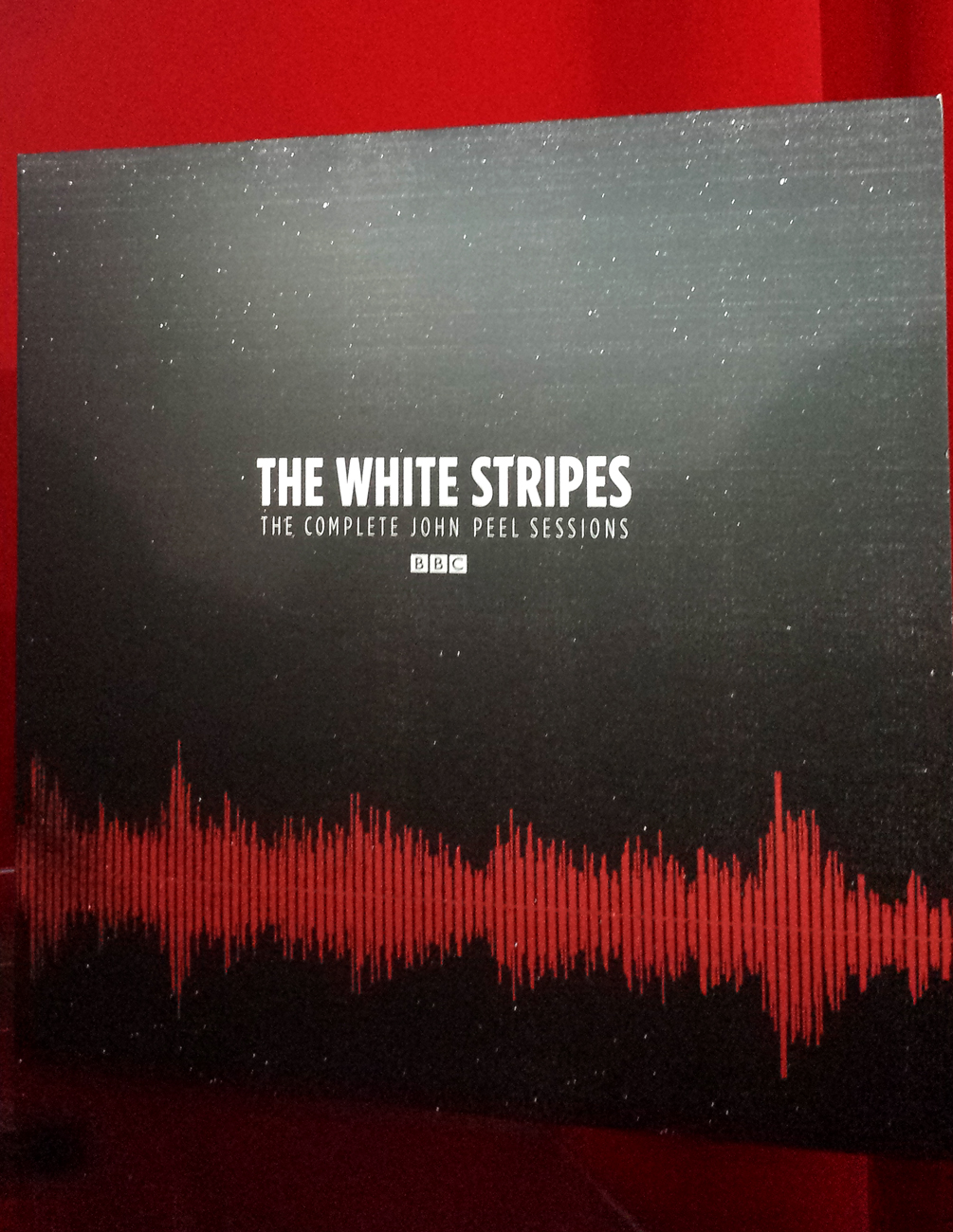 The White Stripes The Complete John Peel Sessions album cover. Photo by: Matthew McGuire