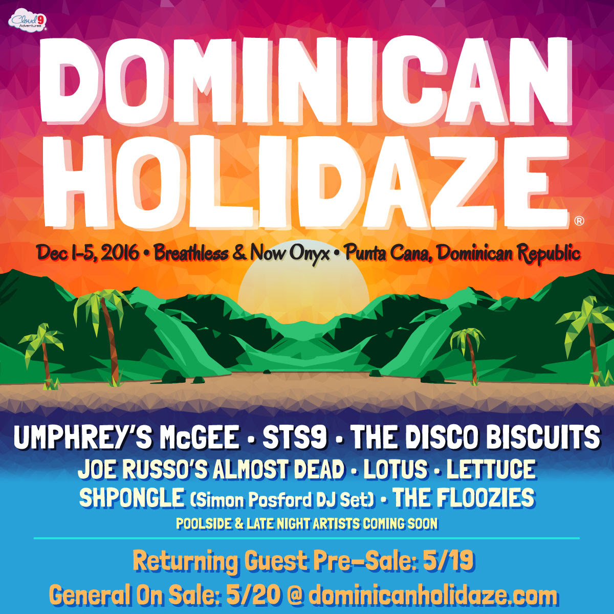 Dominican Holidaze 2016. Photo provided.