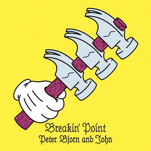 Peter Bjorn and John Breakin' Point album artwork. Photo provided.