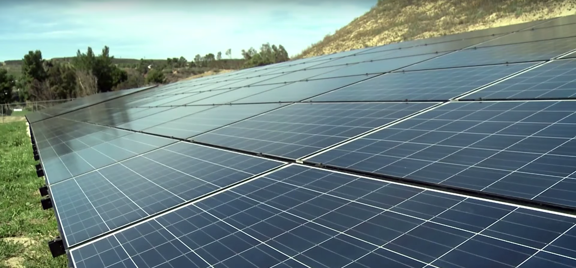 Solar power in California. Photo by: CCTV America / YouTube