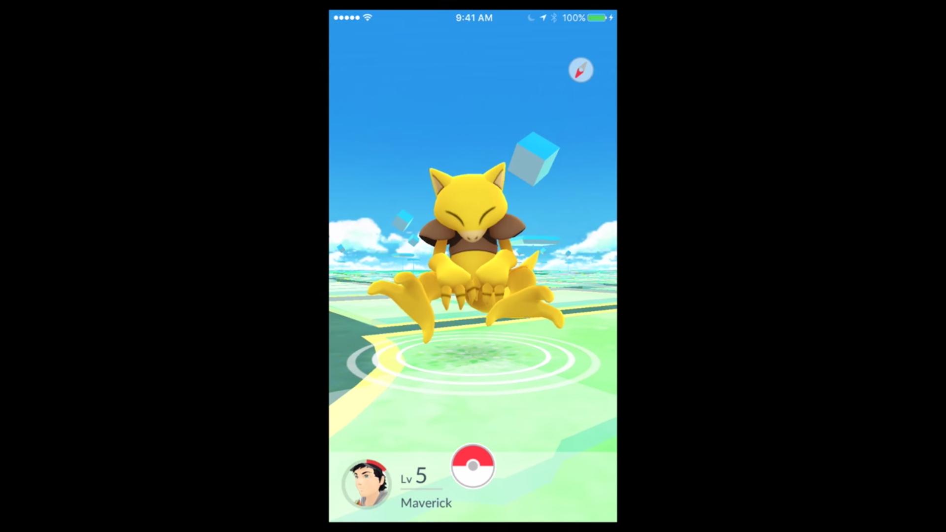 Pokémon GO still shot. Photo by: Nintendo / YouTube