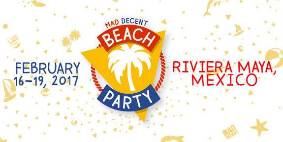 Mad Decent Beach Party at Barceló Maya Beach Resort in Riviera Maya, Mexico. Photo by: Sacks & Company