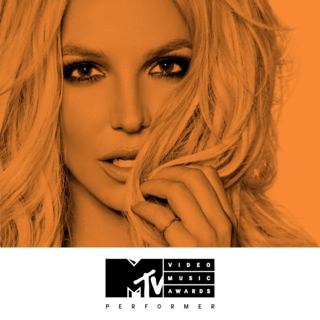Brittany Spears performing live at the MTV VMAs 2016 event from Madison Square Garden. Photo courtesy by: MTV / Sunshine Sachs