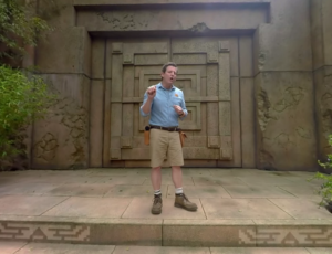 Legends of the Hidden Temple the YouTube 360 experience. Photo by: Nickelodeon / YouTube