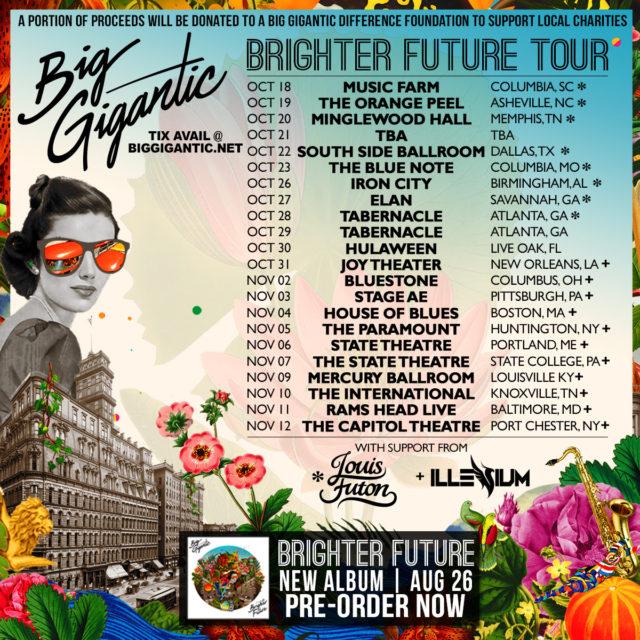 Big Gigantic Brighter Future album artwork. Photo provided.