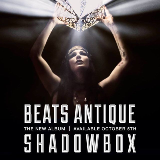 Beats Antique album cover art for Shadowbox. Photo by: Beats Antique