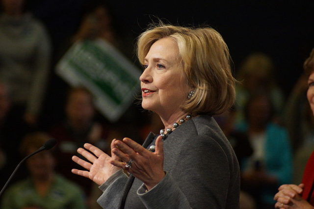 Hillary Clinton in November 2014. Photo by: Marc Nozell / Wikimedia Commons