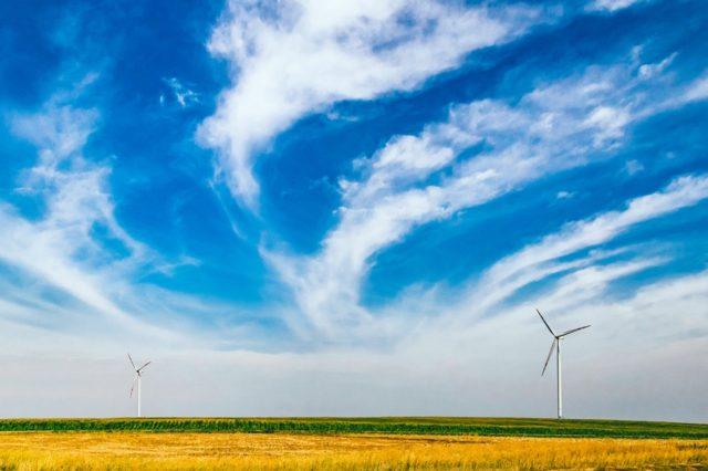 A wind farm. Photo by: pexels.com