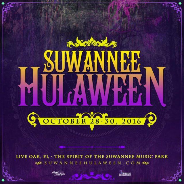 Suwannee Hulaween 2016 schedule. Photo by: Suwannee Hulaween