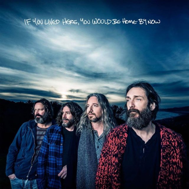 The Chris Robinson Brotherhood album cover for If You Lived Here By Now, You Would Be Home By Now. Photo provided.