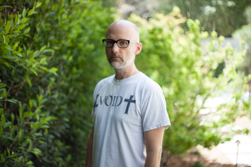Moby, musician and activist. Photo by: Melissa Danis. Photo courtesy: Sunshine Sachs