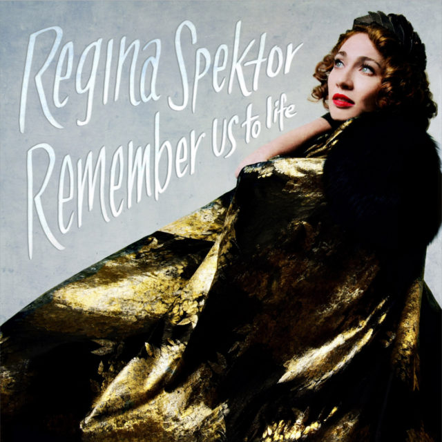 Album artwork featuring Regina Spektor Remember Us to Life. Photo by: Regina Spektor