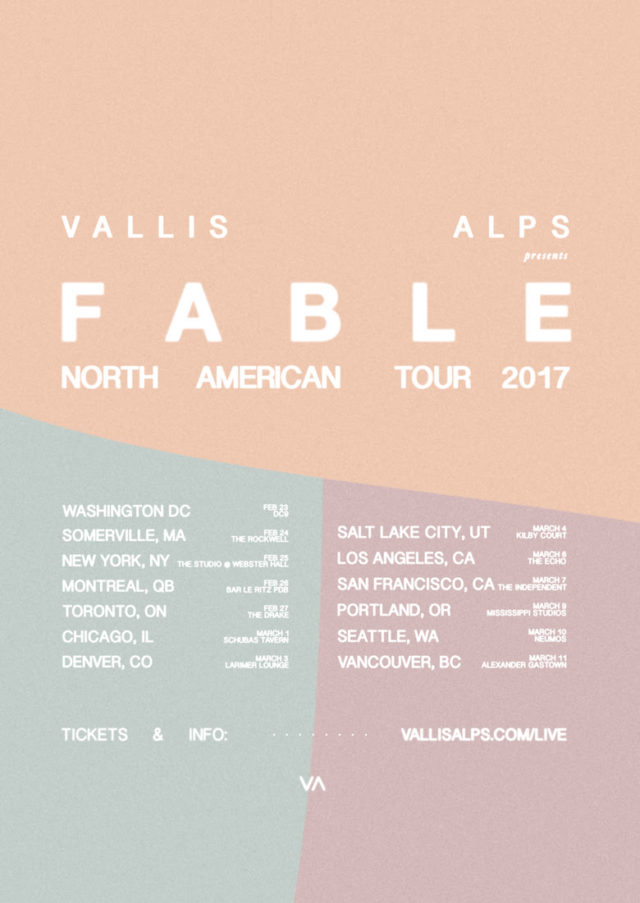 Vallis Alps, Australia electronic music producers, 2017 North American tour dates. Photo provided.
