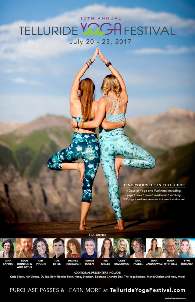 Telluride Yoga Festival 2017 poster. Photo provided.
