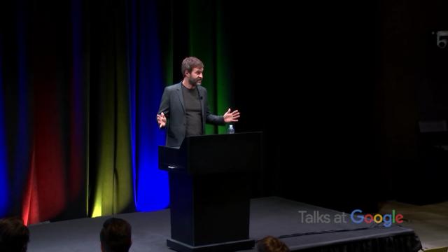 Mark Duplass, Talks at Google. Photo by Google / YouTube