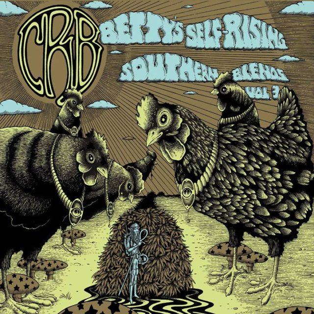 Volume 3: Self-Rising, Southern Blends album artwork. Photo by: Chris Robinson Brotherhood / Calabro Music Media