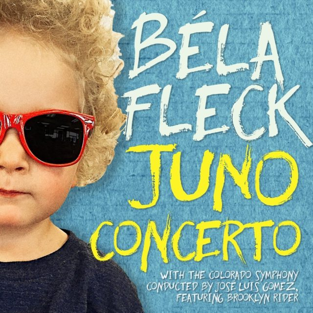 Béla Fleck, Juno Concerto album cover. Photo by: Béla Fleck / Twitter
