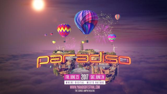 Paradiso Festival 2017 lineup. Photo by: Paradiso Festival / YouTube