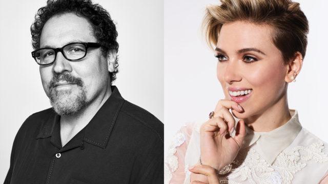 Tribeca Talks: Directors Series: Jon Favreau with Scarlett Johansson. Photo by: Tribeca Film Festival