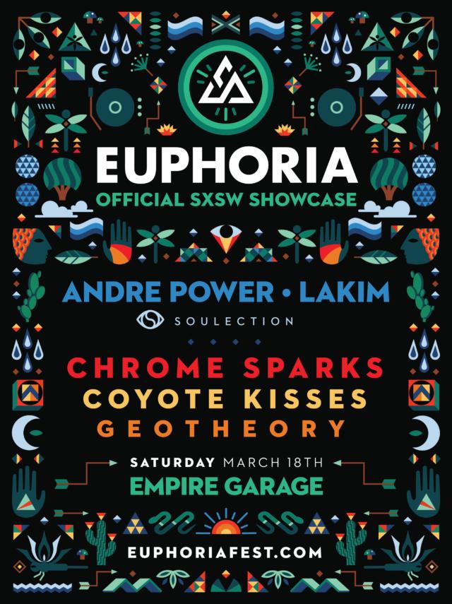Euphoria music showcase at SXSW Music 2017. Photo provided.