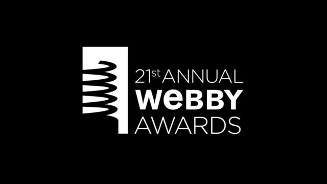 21st Annual Webby Awards. Photo by: Webby Awards / YouTube