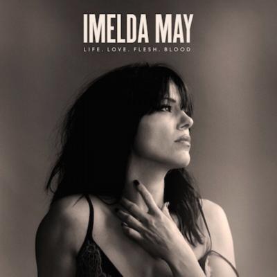Imelda May album artwork for Life, Love, Flesh, Blood. Artwork photo credit: Max Dodson. Photo provided by: Sacks & Co.