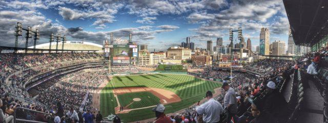 MLB baseball at Comerica Park. Photo by: Pexels.com