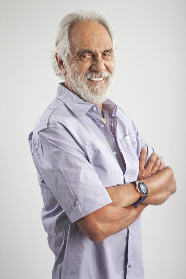 Tommy Chong promotional shot. Photo Credit: Neil Visel. Photo provided by: Matt Johnstone Publicity / Mammoth Lakes Film Festival