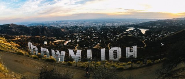 Los Angeles hosts the famous Hollywood sign. Photo by: Pexels.com