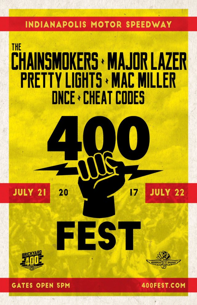 400 Fest promotional material. Photo by: 400 Fest / Twitter