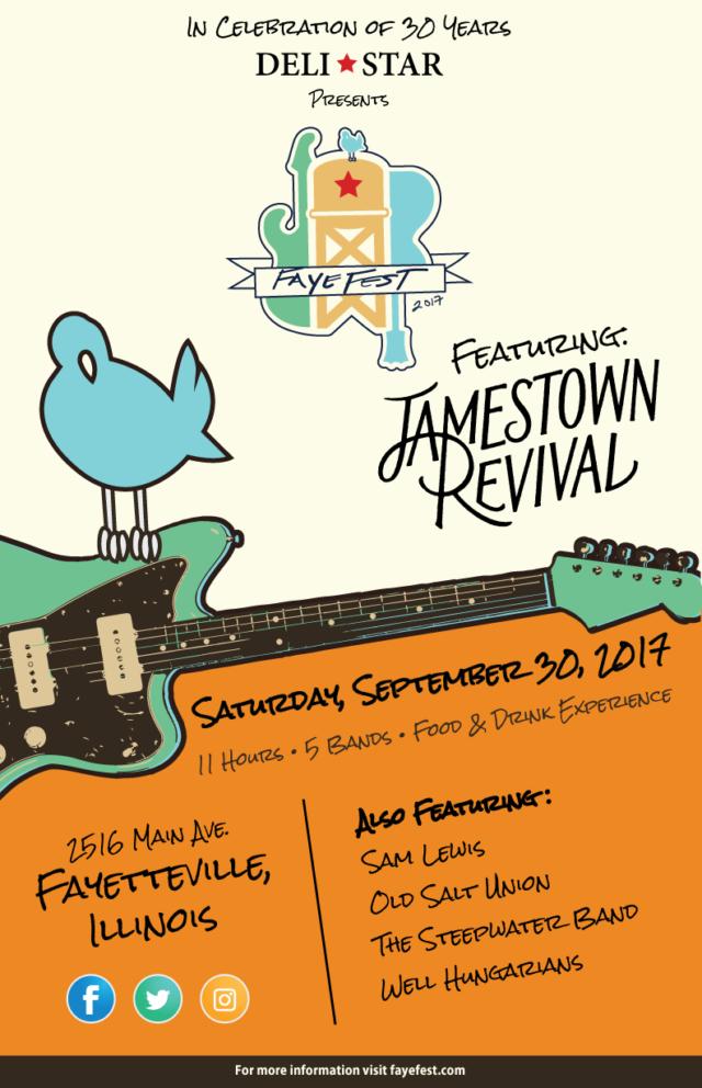 Faye Fest 2017 poster. Photo provided.