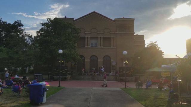 The Shryock Auditorium in Carbondale, Illinois on 07/13/17. Photo by: Matthew McGuire