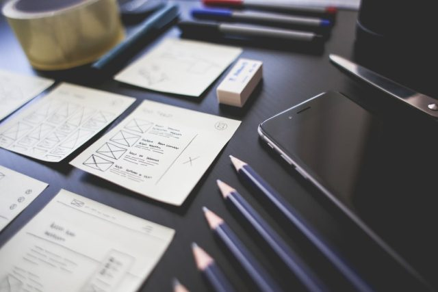 Prototypes and creative outlines. Photo by: Pexels.com