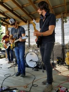 Lone Howl performing at Starview Winery. Photo by: Matthew McGuire