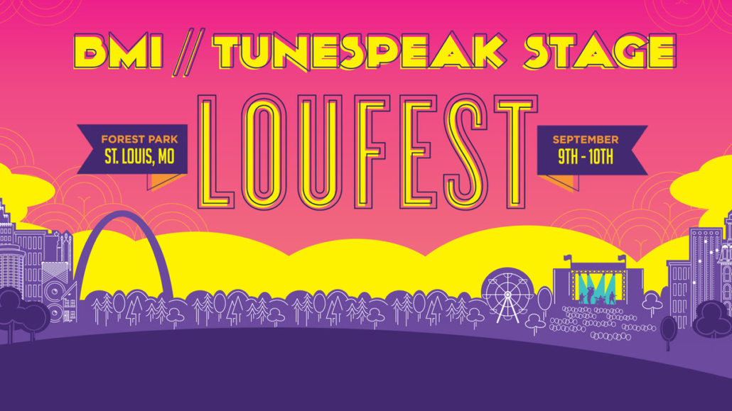 BMI/Tunespeak Stage at LouFest. Photo by: LouFest